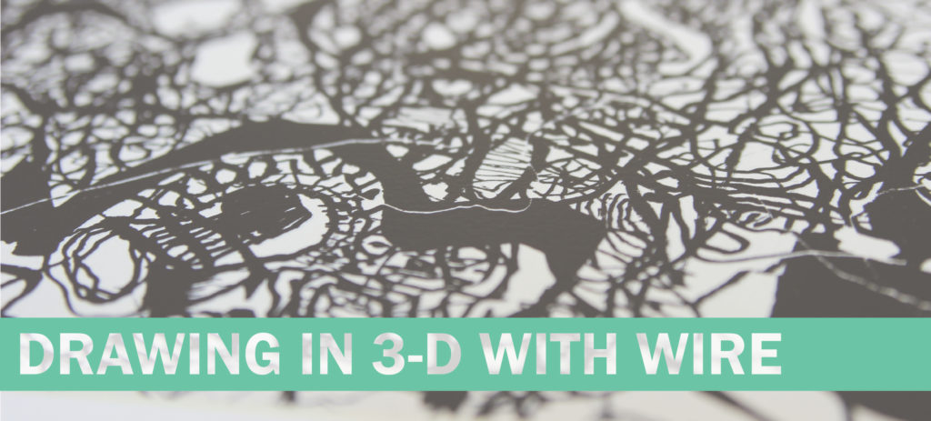 Drawing in 3-D with Wire Banner