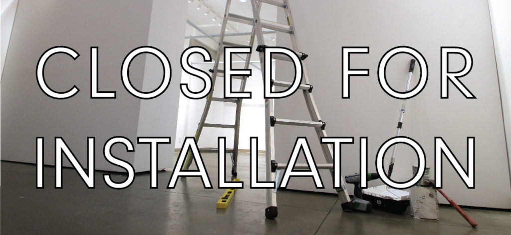 CLOSED FOR INSTALLATION 2-01